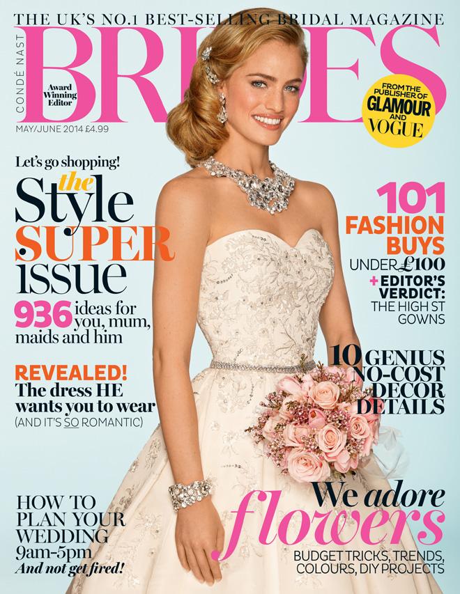 Conde Naste Brides magazine May/June