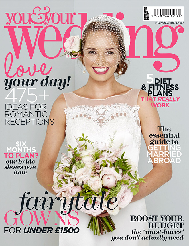 You and Your Wedding Magazine Real Luxury Wedding