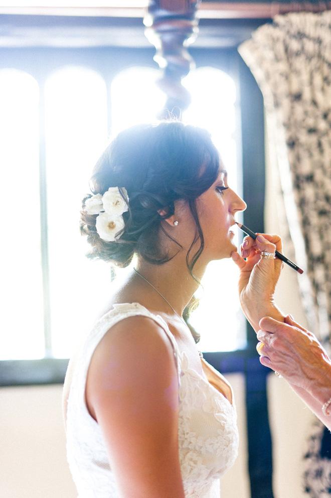 Natural bride portrait anushe low