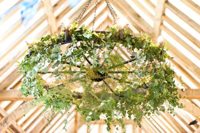 botanical chandeliers