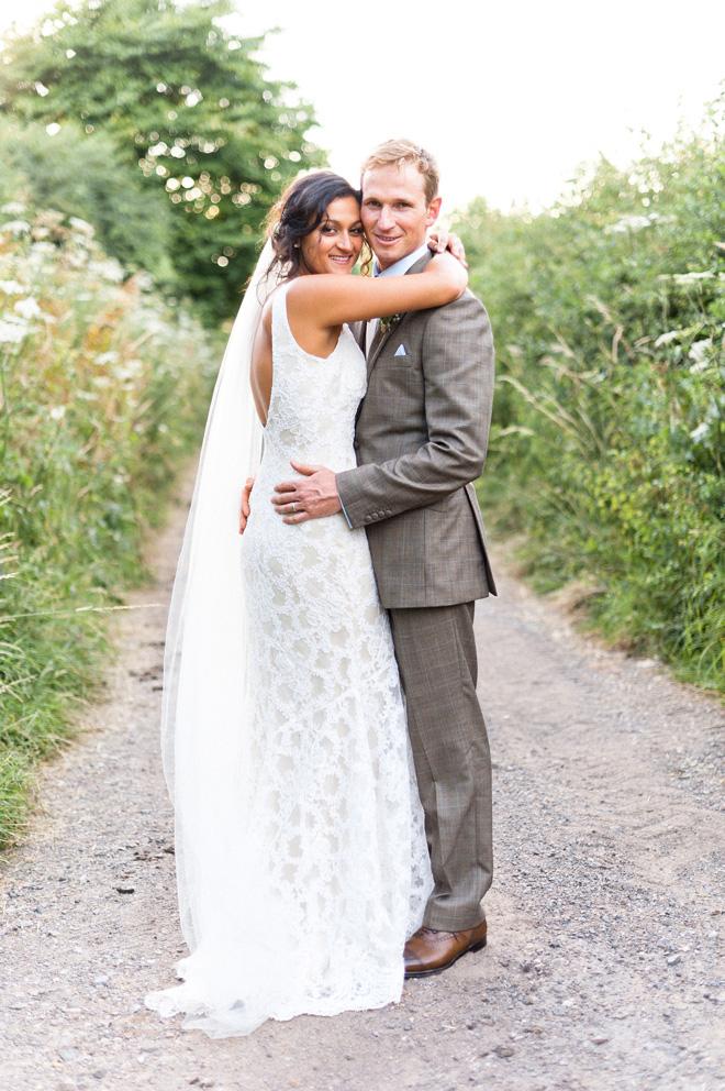 natural light wedding portrait photographer