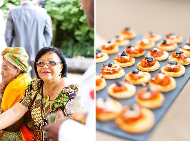 Wedding food photographer