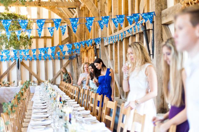 luxury barn wedding