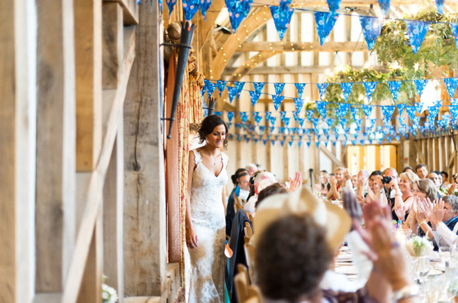Surrey barn wedding