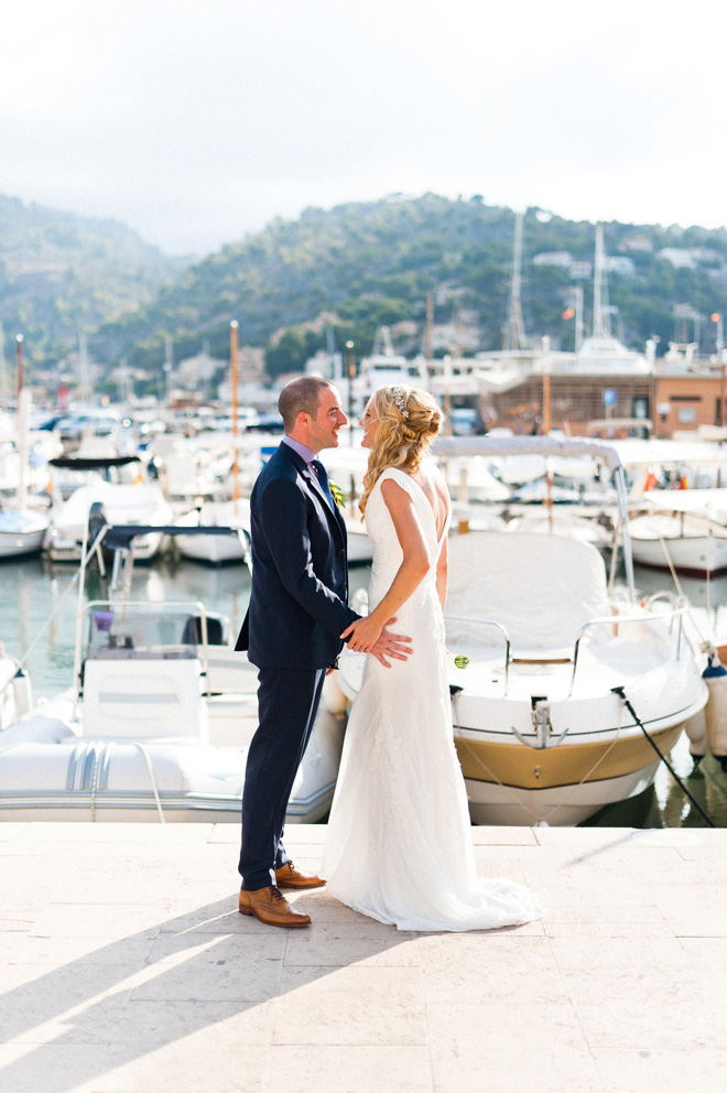 marina destination wedding