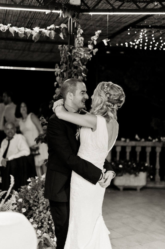 mallorca wedding first dance