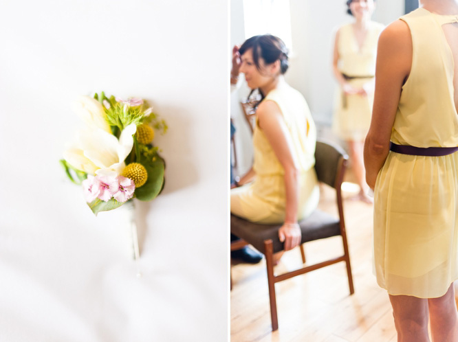 Town Hall Hotel Wedding Photographer Yellow bridesmaids dresses