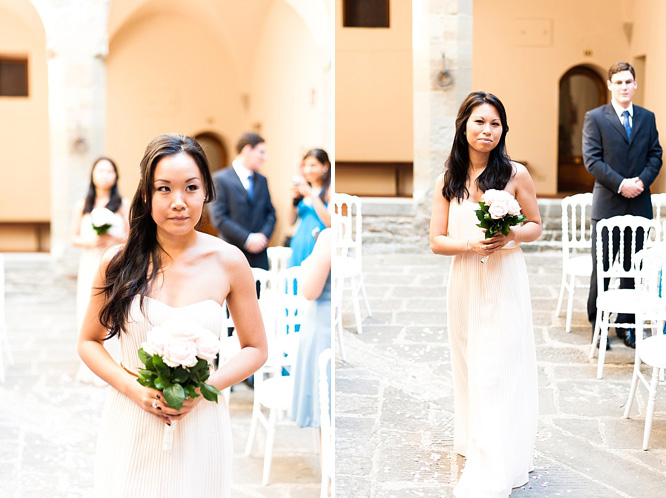 Villa Pitiana outdoor wedding