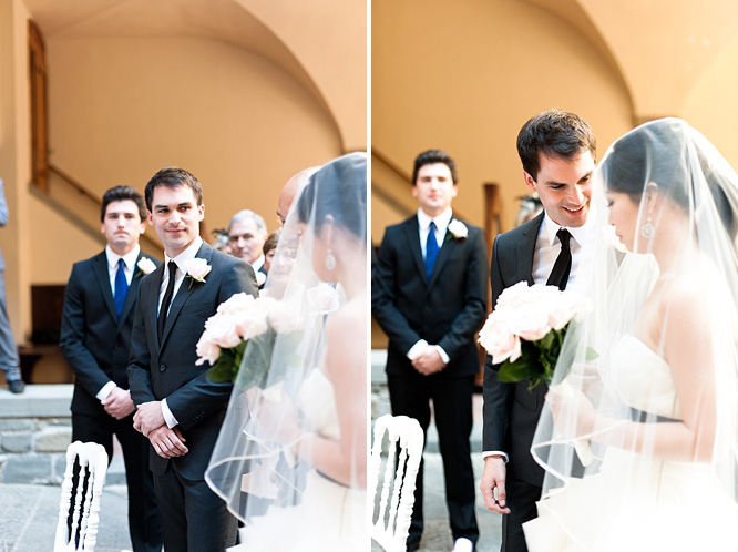 Villa Pitiana courtyard wedding ceremony