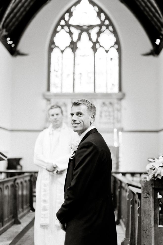 handsome groom wedding photo