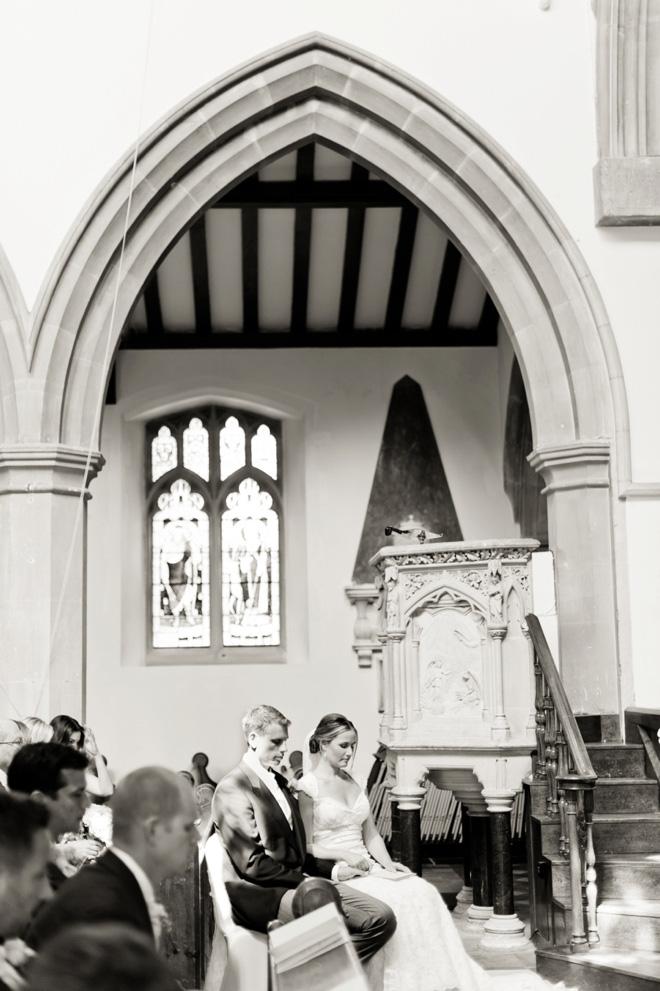 Danesfield House wedding church ceremony