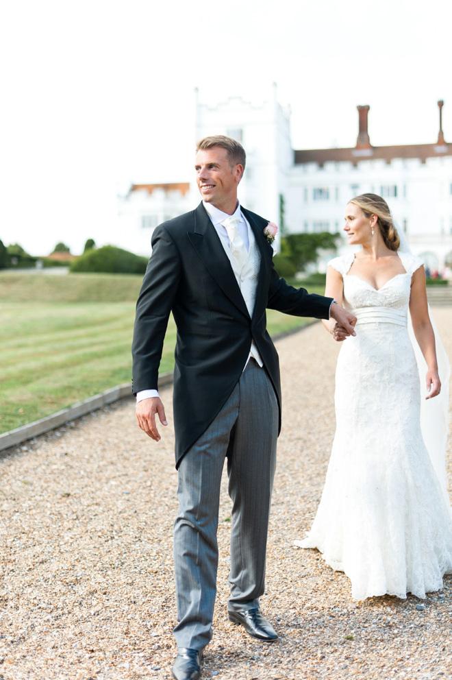 Danesfield House wedding couple photos