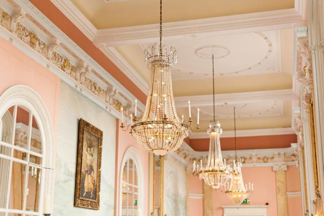 Danesfield House wedding Versailles Suite