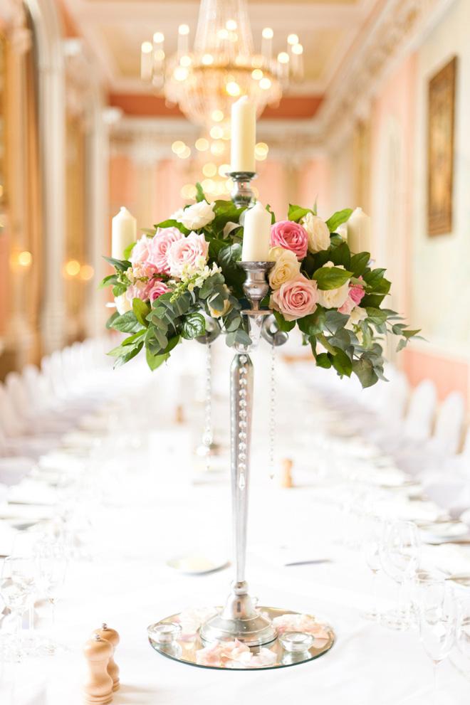 Danesfield House wedding flowers
