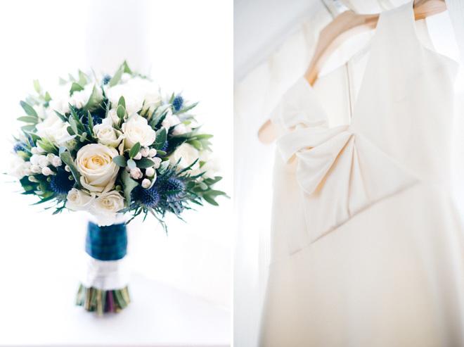 victoria beckham wedding gown