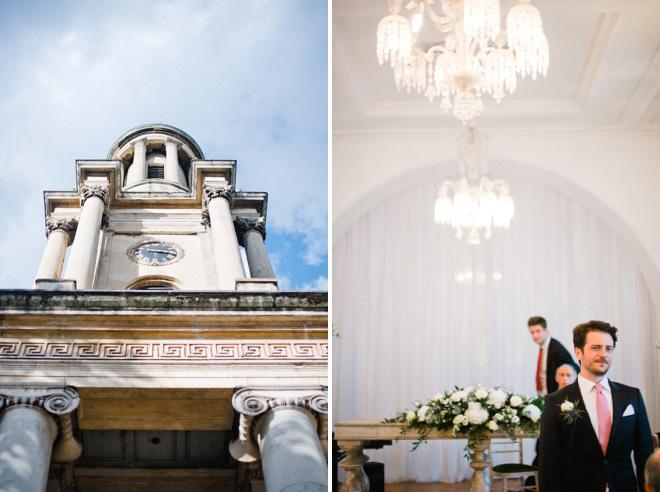 one marylebone wedding photo