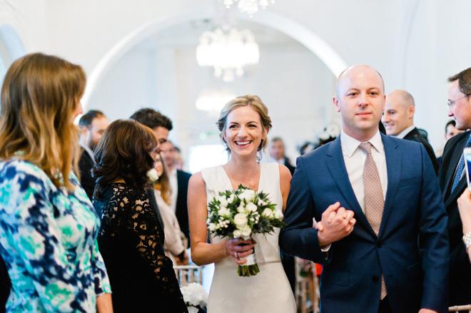 wedding ceremony at one marylebone london